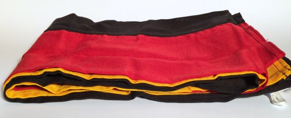 Flagge Deutschland Querformat 120x80cm Spunpolyester