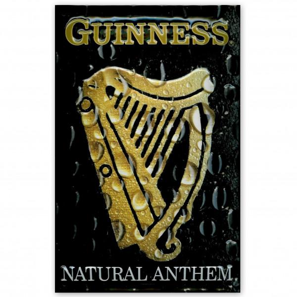 Blechschild Guinness Anthem Harfe Bier Schild Kneipenschild