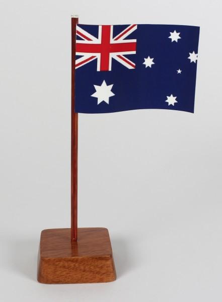Mini Tischflagge Australien Höhe 13 cm Tischfähnchen