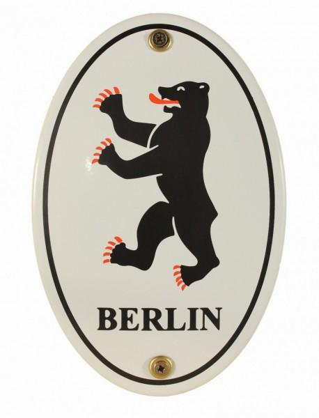 Emaille Wappenschild Berlin Emailleschild