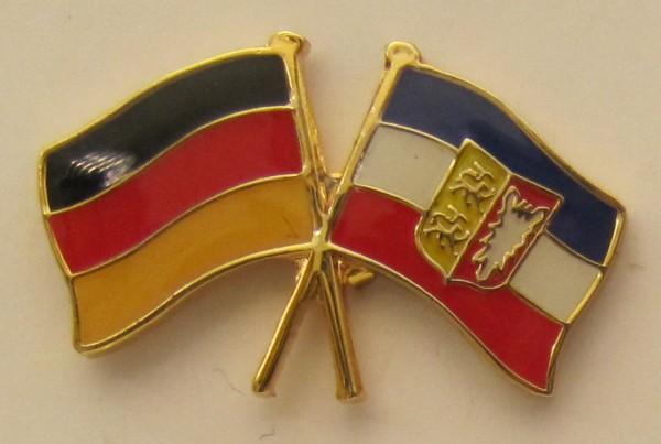 Schleswig Holstein / Deutschland Freundschafts Pin Anstecker Flagge Fahne Nationalflagge
