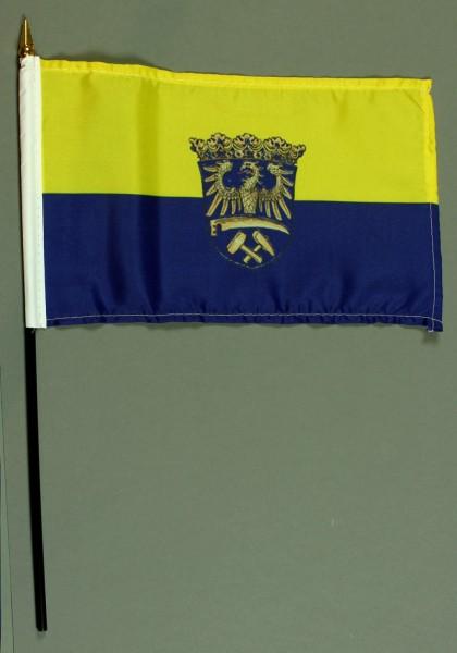 Tischflagge Oberschlesien 15x25 cm BASIC optional mit Tischflaggenständer