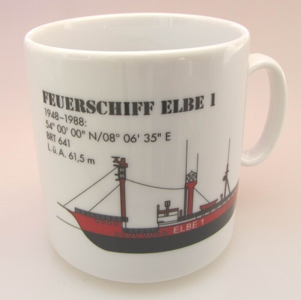 Leuchtturm Becher Feuerschiff Elbe 1 Nordsee