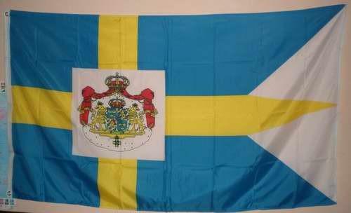 Flagge Fahne : Schweden Royal