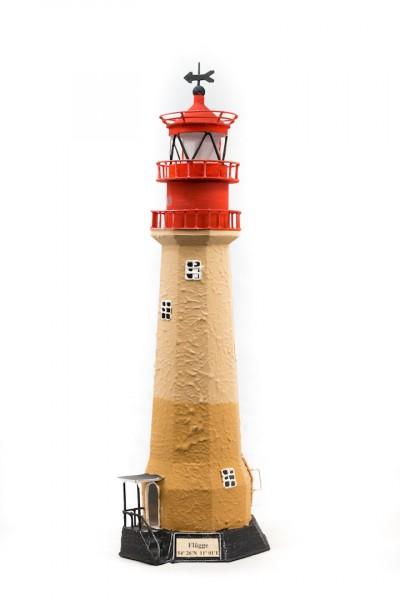 Blechleuchtturm Flügge / Fehmarn 46,5 cm mit Teelichthalter