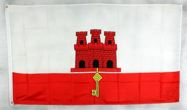 Flagge Fahne : Gibraltar