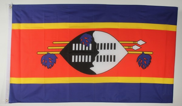Flagge Fahne : Swasiland Swasilandflagge Nationalflagge Nationalfahne