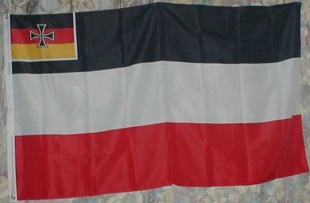 Flagge Fahne Handelsflagge mit Eisernem Kreuz (Nr. 310) Deutsches Reich