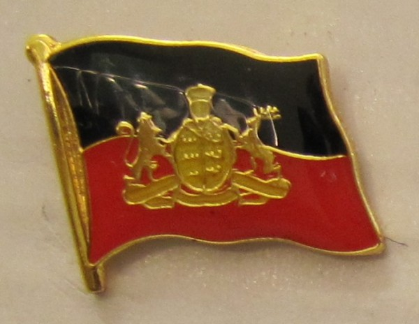 Pin Anstecker Flagge Fahne Württemberg Königreich