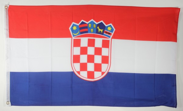 Kroatien Flagge Großformat 250 x 150 cm wetterfest