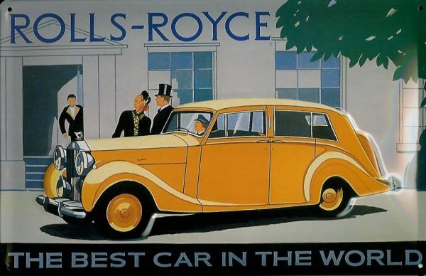 Blechschild Rolls Royce Nostalgieschild Schild