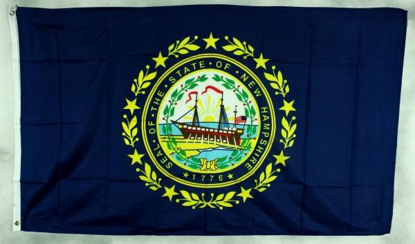 Flagge Fahne : New Hampshire