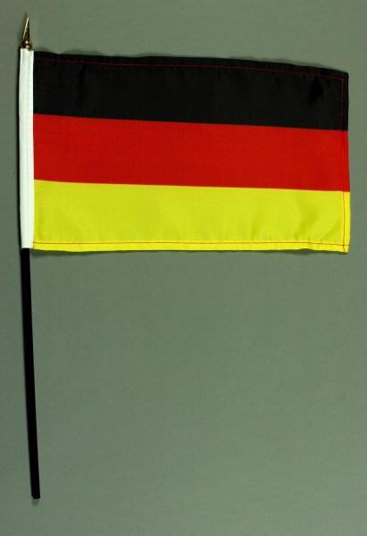 Tischflagge Deutschland 15x25 cm BASIC optional mit Tischflaggenständer