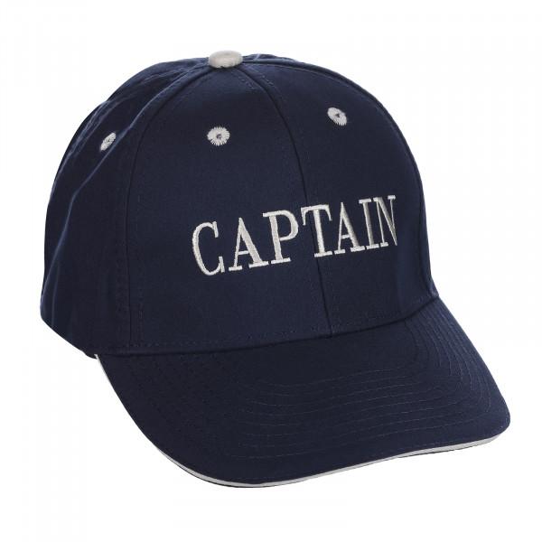 Baseball Cap Captain blau Einheitsgröße Größenverstellbar