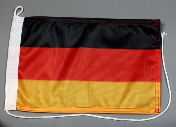 Bootsflagge Deutschland 30x20 cm Flagge Motorradflagge