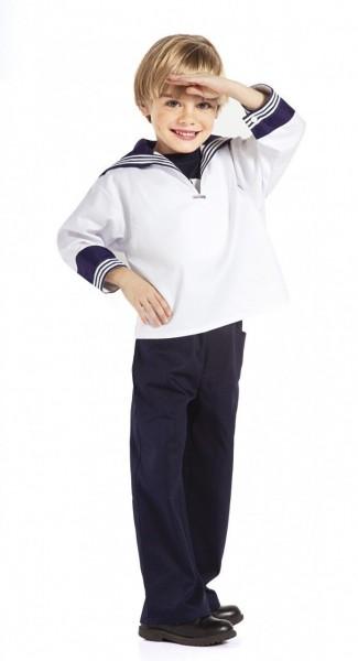 Kinder Matrosenhemd weiß alle Größen von original Modas