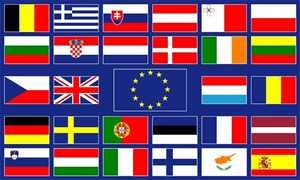 Flagge Fahne : Europa / 28 Staaten Länder