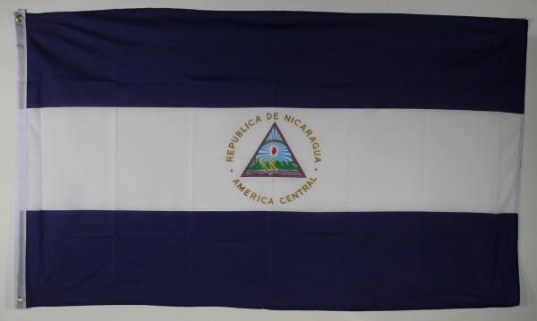 Flagge Fahne Nicaragua 90x60 cm