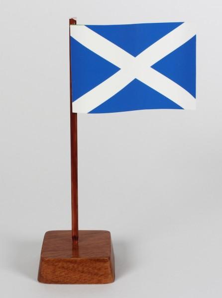 Mini Tischflagge Schottland Höhe 13 cm Tischfähnchen