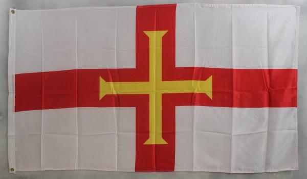 Flagge Fahne : Guernsey Kanalinsel