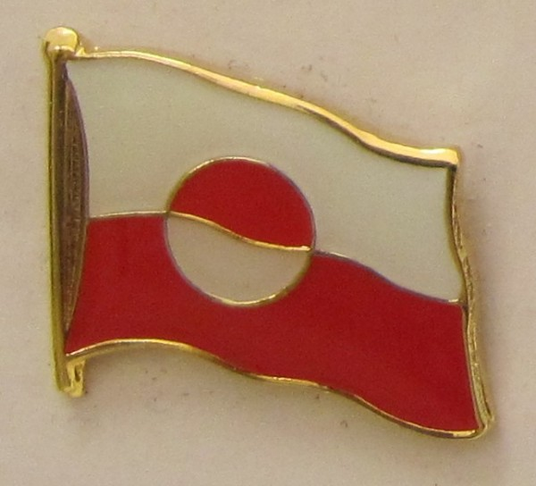 Pin Anstecker Flagge Fahne Grönland Flaggenpin Button Badge Flaggen Clip Anstecknadel