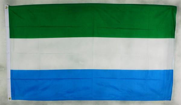 Flagge Fahne Sierra Leone Nationalflagge Nationalfahne