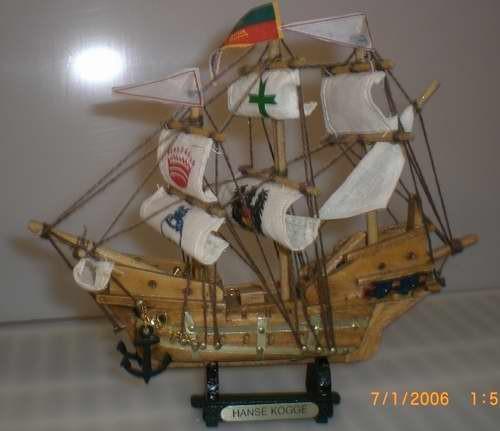 Schiffsmodell Hanse Kogge Modellschiff Schiffsmodelle