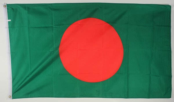 Flagge Fahne : Bangladesh Bangla Desh Nationalflagge Nationalfahne