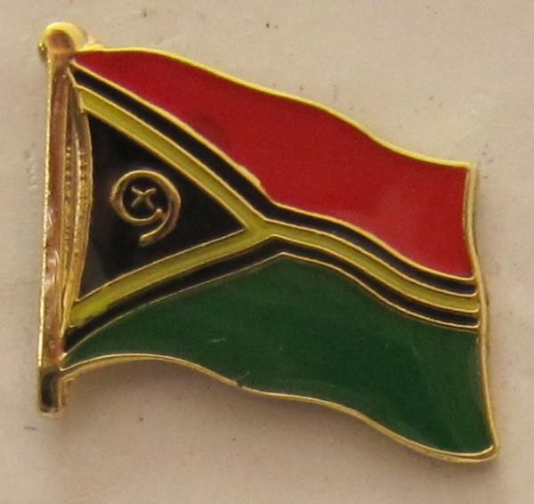Vanuatu Pin Anstecker Flagge Fahne Nationalflagge