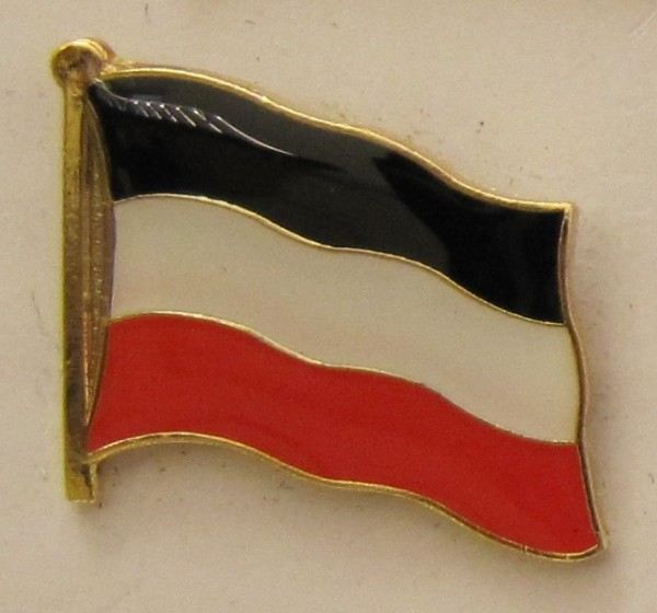 Pin Anstecker Flagge Fahne Deutsches Kaiserreich Deutschland Flaggenpin Button Badge Flaggen Clip An