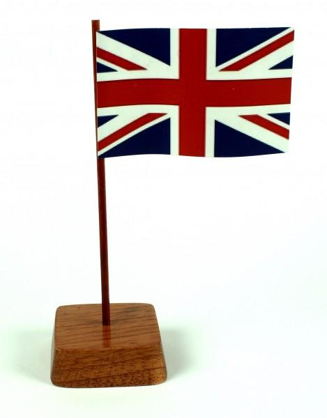 Mini Tischflagge Großbritannien Höhe 13 cm Tischfähnchen