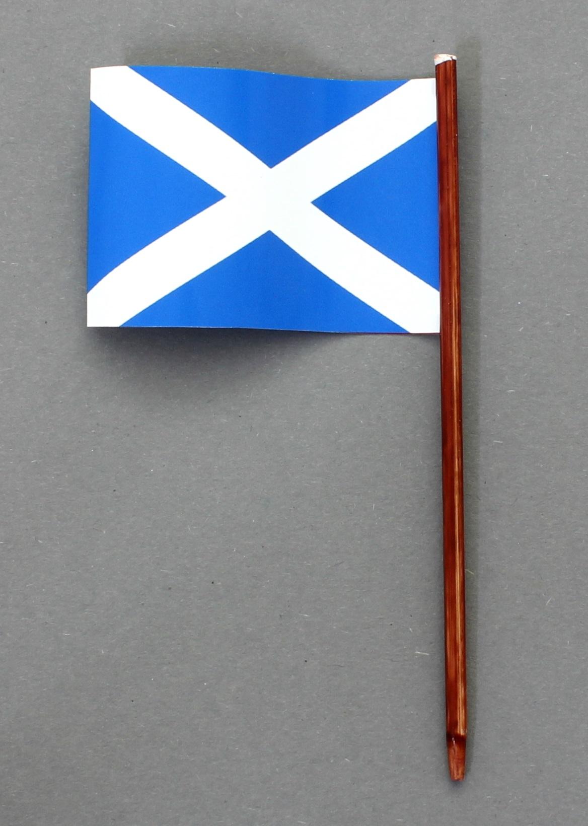ohne St/änderfu/ß Buddel-Bini Kleine Tischflagge D/üsseldorf 15x10 cm mit 30 cm Mast aus PVC-Rohr
