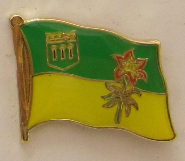 Saskatchewan Kanada Pin Anstecker Flagge Fahne