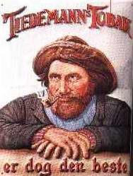 Blechschild Nostalgieschild Tiedemann's Tobak Seemann Tabak