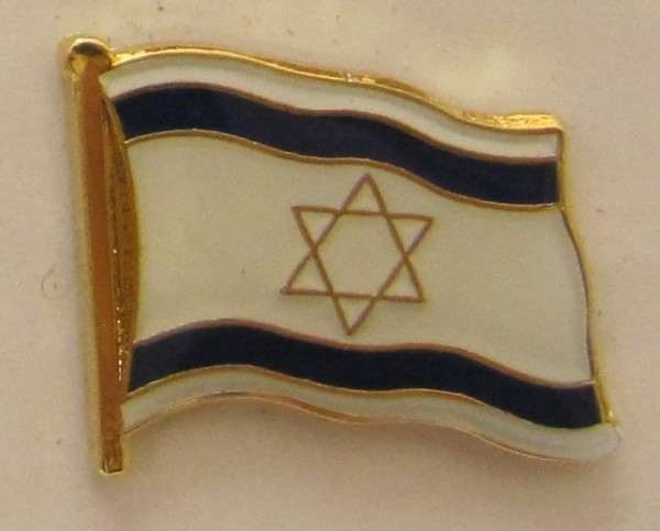Israel Pin Anstecker Flagge Fahne Nationalflagge