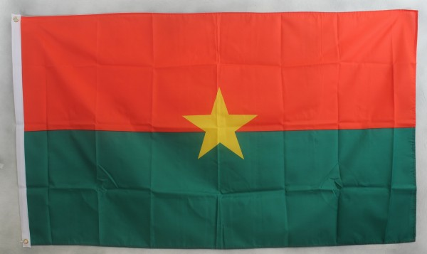 Flagge Fahne : Burkina Faso Nationalflagge Nationalfahne