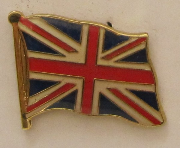 Pin Anstecker Flagge Fahne Großbritannien Union Jack Nationalflagge Flaggenpin Button Badge Flaggen