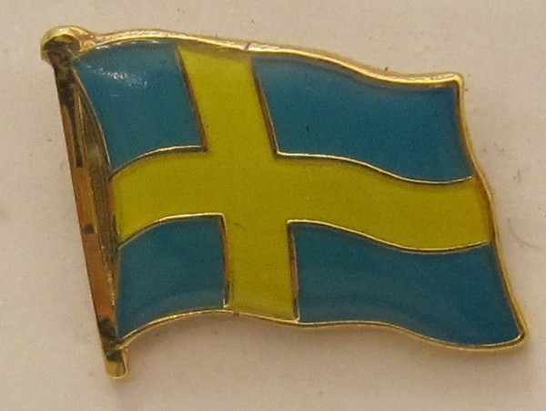Pin Anstecker Flagge Fahne Schweden Nationalflagge
