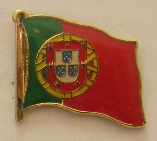 Pin Anstecker Flagge Fahne Portugal Nationalflagge