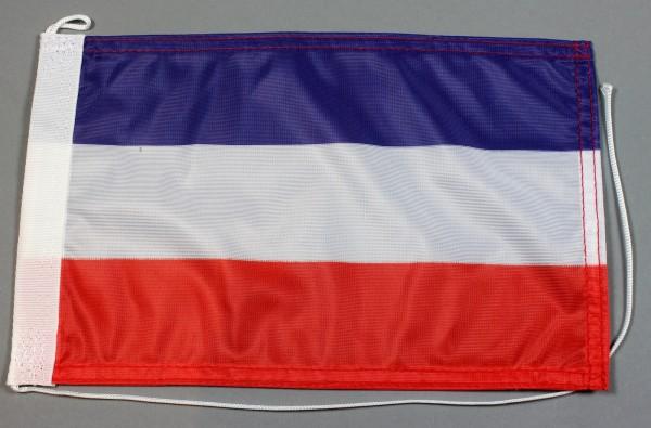 Bootsflagge : Jugoslawien 30x20 cm Motorradflagge
