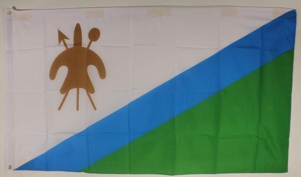 Flagge Fahne : Lesotho Lesothoflagge Nationalflagge Nationalfahne