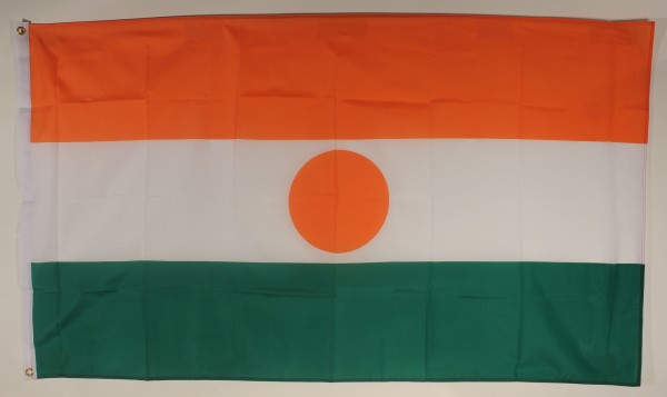 Flagge Fahne : Niger Nigerflagge Nationalflagge Nationalfahne