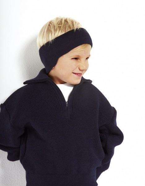 Kinder Stirnband mit Ohrschutz 100% Baumwolle