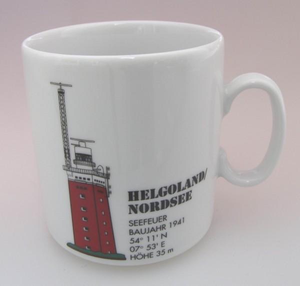 Leuchtturm Becher Helgoland / Nordsee *