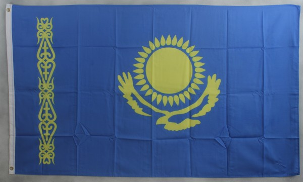 Flagge Fahne : Kasachstan Nationalflagge Nationalfahne