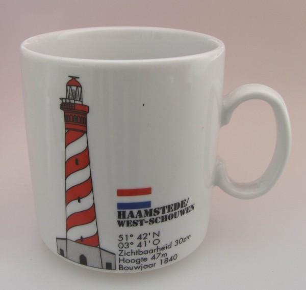 Leuchtturm Becher Haamstede Niederlande Holland