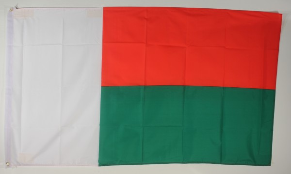 Flagge Fahne : Madagaskar Madagaskarflagge Nationalflagge Nationalfahne