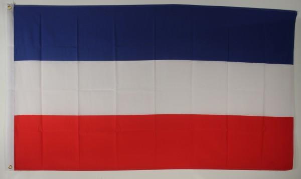 Flagge Fahne Schleswig Holstein ohne Wappen