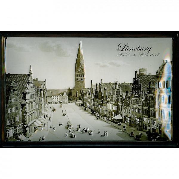 Blechschild Nostalgieschild Lüneburg Am Sande Anno 1917 Schild Souvenir
