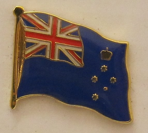 Victoria Australien Pin Anstecker Flagge Fahne Nationalflagge